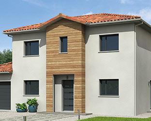 maison ossature bois natilia 1er constructeur fran ais. Black Bedroom Furniture Sets. Home Design Ideas